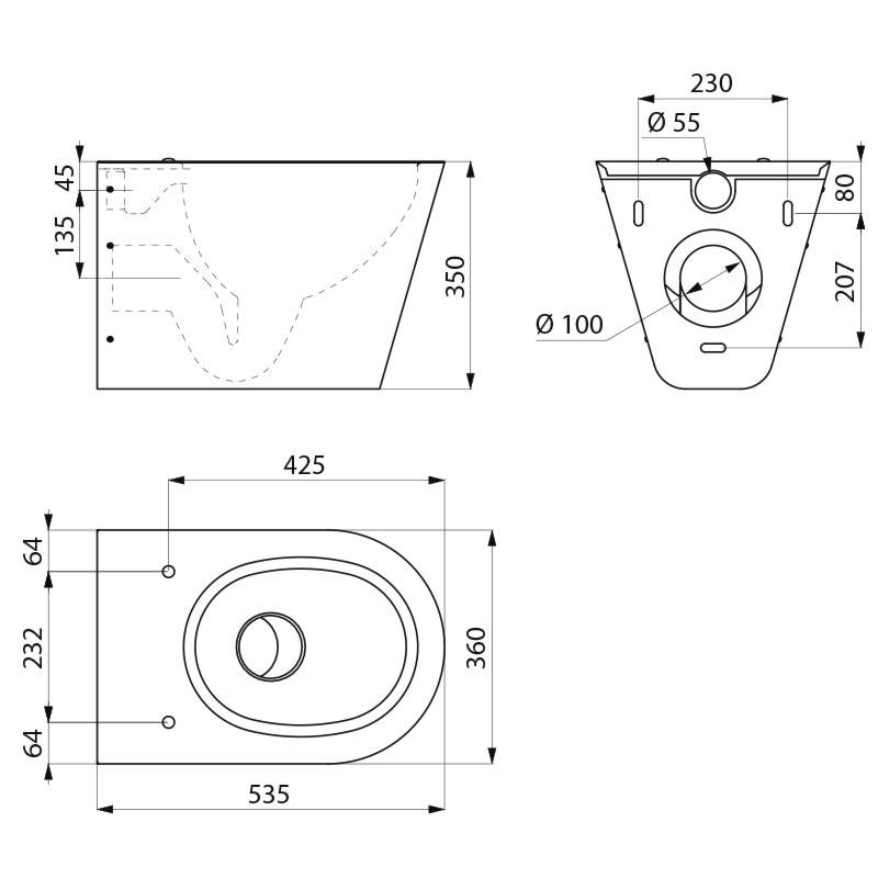 cote wc suspendu best installer un wc suspendu with cote wc suspendu dimension wc avec lave. Black Bedroom Furniture Sets. Home Design Ideas