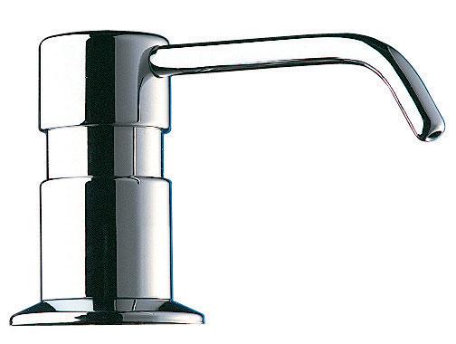 distributeur de savon liquide sur plage 0 5 litre bec coud r f 729512 delabie. Black Bedroom Furniture Sets. Home Design Ideas