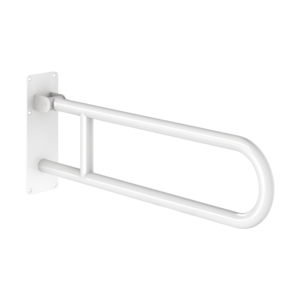 Barre d'appui rabattable Basic blanc, L. 760 mm