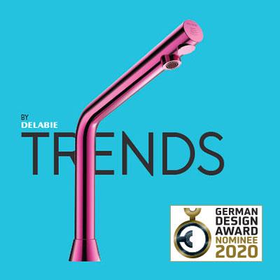 Magazine TRENDS BY DELABIE : nominé au German Design Award 2020
