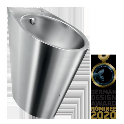 Urinoir Inox hybride HYBRIMATIC FINO : nominé au German Design Award 2020