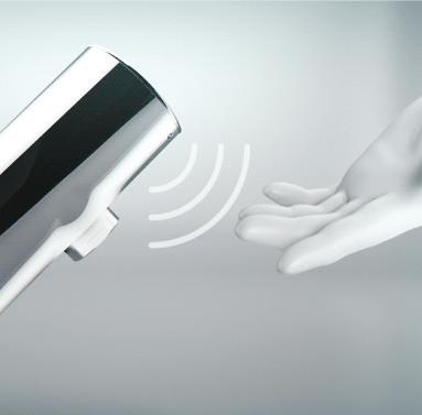 Robinetterie électronique à purge automatique