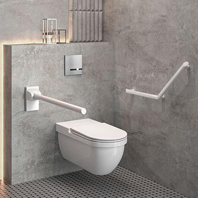 Lorsqu'il est prévu plusieurs toilettes handicapés par sexe dans le bâtiment,