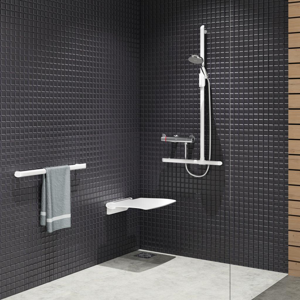 Sièges de douche DELABIE pour senior ou handicapé