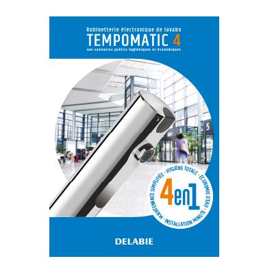 Robinetterie électronique de lavabo TEMPOMATIC 4