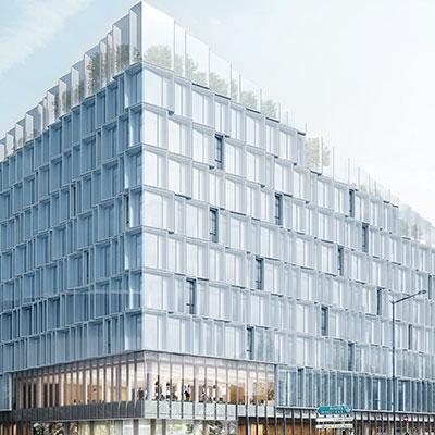 BIOTOPE le nouveau siège de la MEL - Lille, France