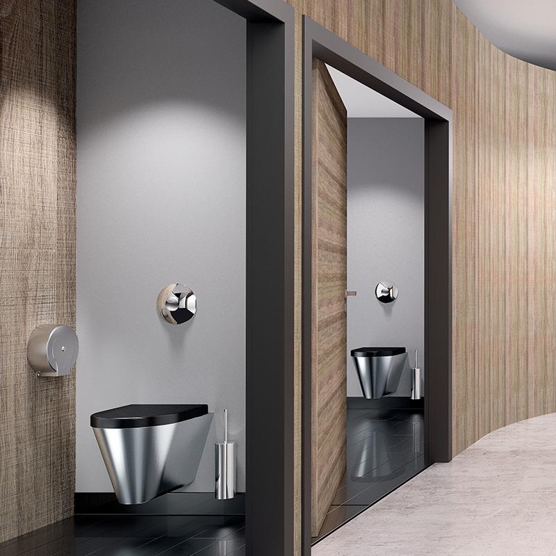 Rénovés en moyenne tous les 15 à 20 ans, les espaces sanitaires des lieux publics ne révèlent pas une tendance flagrante au design. Bien que lente...