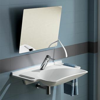 Quelle hauteur pour un lavabo PMR et ses accessoires ?