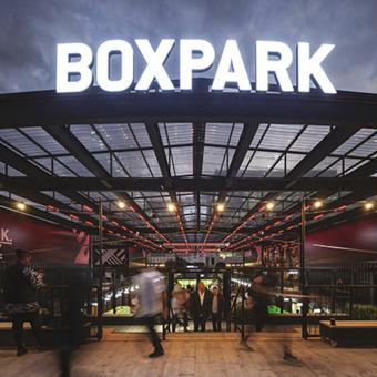BOXPARK, CROYDON (ROYAUME-UNI)