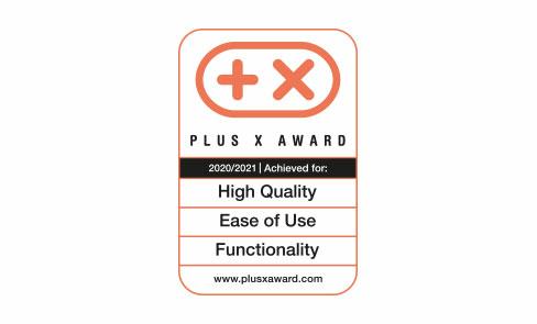 Primé au concours d'innovation mondial Plus X Award