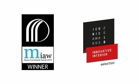 Produit sélectionné et récompensé par plusieurs concours de design