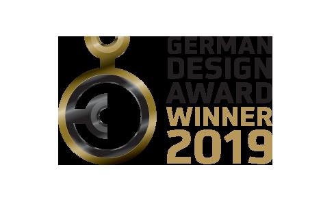 Produit gagnant du German Design Award 2019