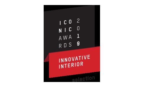 Produit sélectionné aux ICONIC AWARDS 2019