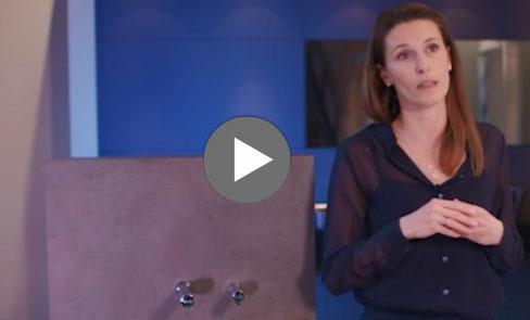 Découvrez en vidéo le distributeur de savon mural électronique BINOPTIC