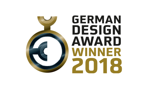 Produit gagnant du GERMAN DESIGN AWARD 2018