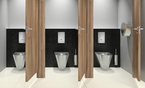 Système de chasse d'eau directe WC, la révolution du public